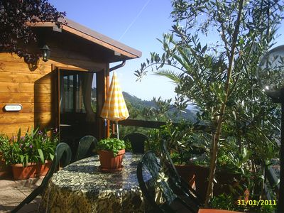 Photo for Our Tuscany 2 sea & mountain log cabin
