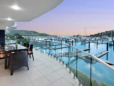Photo for Prestige Pavillion Luxury 4 Bedroom Oceanfront With Buggy Great Location Pavillion 3 Hamilton Island
