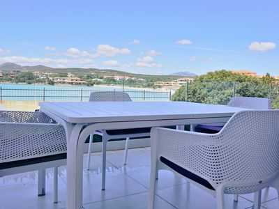 Photo for Aironi IV - Luxurious apartment right on the beach - free Wi-Fi