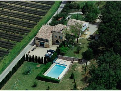 Photo for Old house in the heart of the Drôme Provençale. 5 people. Swimming Pool.