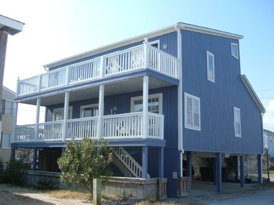Photo for Oceanfront, contemporary, comfortable beach house.