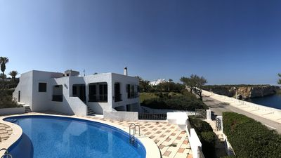 Front row villa with 200 degrees view of the Mediterranean Sea!