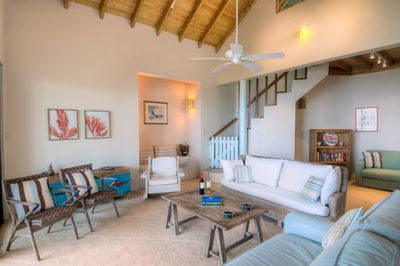 ample seating in living area