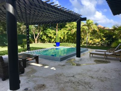 Photo for LUXURY PEACEFUL HOUSE CAP CANA WITH POOL & BBQ