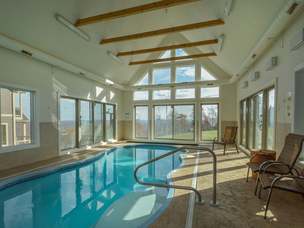 Private Indoor Swimming Pools ski in/ski out chateau with private indoor  - vrbo