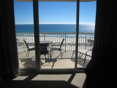 Photo for C709 Sleeps 6! KingBunks/sofa sleeper,Gulffront,WIFI, NO SMOKING