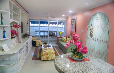 Photo for Relax Sunset View Apartment, Caribe Real