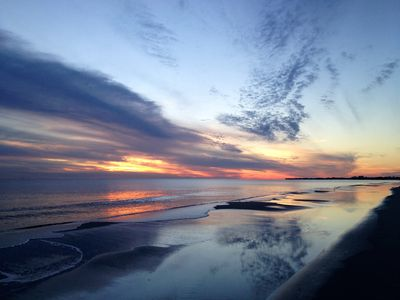 Photo for Stunning Beach Front Condo on Dauphin Island. The 'Sunset Capital of Alabama'