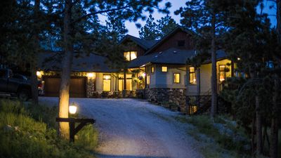 Photo for Off-Grid Luxury in a green sustainable lodge home!
