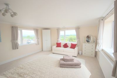 Look out of the windows - View from your bed in the huge Master bedroom!