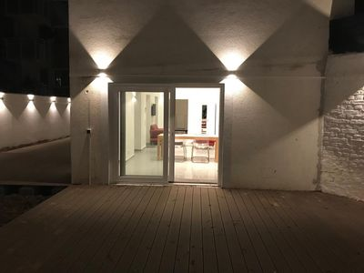 Photo for Stylish 2 bdr apartment  with XXL patio