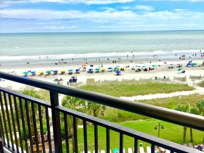 Photo for Oceanfront Private 1 Bedroom suite, Dogs Welcome