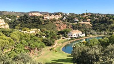 Photo for Stunning 2 bed apartment in Exclusive Elviria Hills Complex