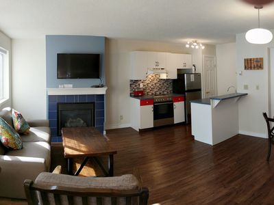 Photo for 2 Bedrooms,1.5 Bathroom Codon, Palliser Sofa bed, Sleeps 6,Hot Tub(shared),BBQ,