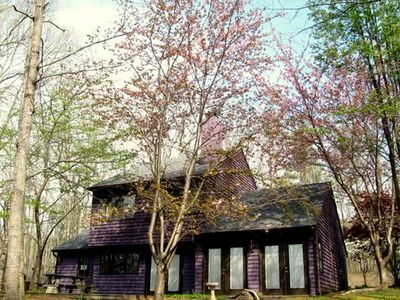 Photo for Woodrock Lodge - Enchanting Woodsy Setting Close to NGIC Location 4/3 on 3+acres