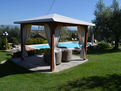 Photo for beautiful house with swimming pool in beautiful panoramic position, close to Ciggiano