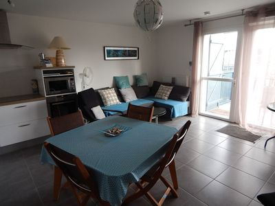 Photo for Very nice new apartment in the center of Andernos les Bains