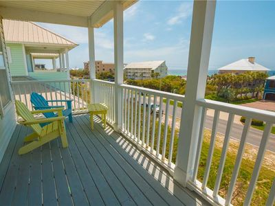 Photo for Exquisite Four Bedroom Beach Cottage With Ocean View And Balcony