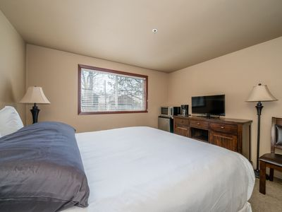 Photo for GrandView Non-View 208: Studio, 1  BA Condominium in Chelan, Sleeps 2