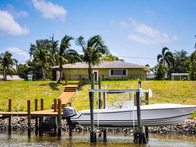 Photo for A WATERFRONT PARADISE!! DOCK UP TO A 38FT BOAT!! PRIVATE DOCK & POOL!