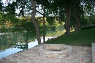 river front fire pit