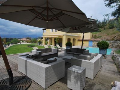 Photo for Detached house with pool, 4 bedrooms, 7 km from the Croisette