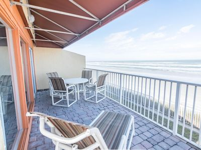 Photo for Stunning Oceanfront! 2 Br! Heated Pool! 3 *NSB