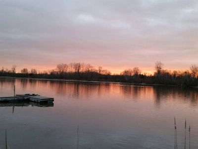 Photo for New Listing! - Waterfront Home with sunrises and an updated 3 bdrm, 2 bath home,