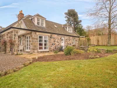 Photo for An Idyllic country cottage with  uninterrupted views over the River Tay.