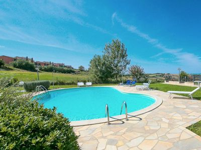 Photo for Posh Holiday Home in San Costanzo with Garden near Sea