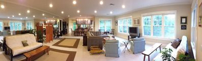 Panoramic view of Living Room