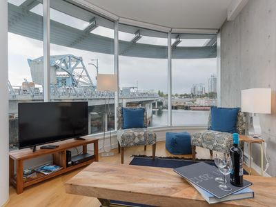 Photo for 2 bed, 2 bath condo on the Inner Harbour