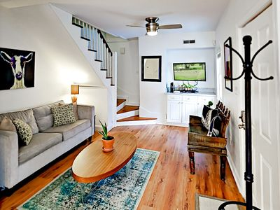 Photo for 4BR/2.5BA in 2 Historic Homes w/ Courtyard - 2 Blocks to Upper King Street