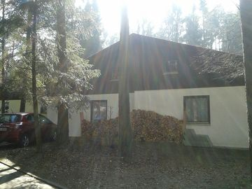 Cottage on the lake with beach in the system, 4 persons