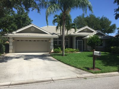 Photo for Relax in paradise. Modern 4 bed, 3 bath Pool home in secure and gated community