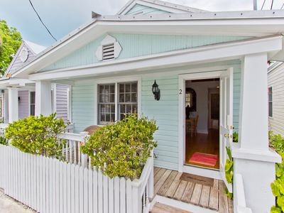 "Photo for ""PINEAPPLE COTTAGE"" ~ Adorable, Updated Cottage in Old Town with Pool!"