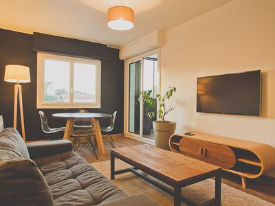 Photo for Maree Basse Flat, the apartment of the city center of Hossegor