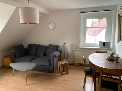 """Photo for Apartment """"Boddenblick"""" - right on the harbor with a view of Greifswalder Bodden"""