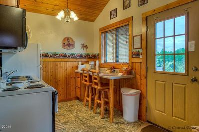 Efficiency Kitchen... cute enough for 2