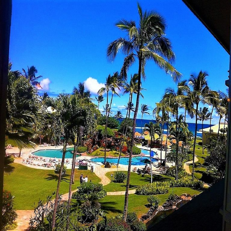 Reges Oceanfront Resort Home: 2417@ Oceanfront Resort, Kauai Beach Resort...