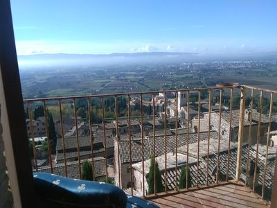 Photo for Assisiheart, ancient and renovated dwelling in the center of assisi