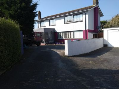 Photo for Spacious detached house, good size garden, private drive situated in Bude.