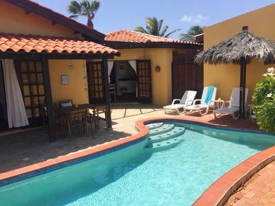 Photo for Aruba Villa with Pool, just 3 minutes driving from Aruba's best beaches