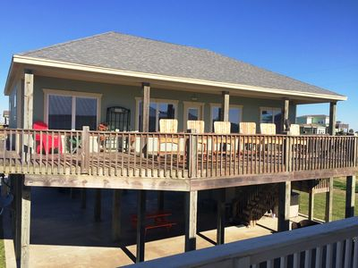 Photo for BC's SURF SHACK - Sleeps 10 - Family Beach House in Holiday Beach Subdivision