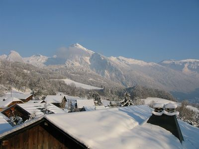 Photo for Lodging in a seventeenth century farmhouse - Samoens