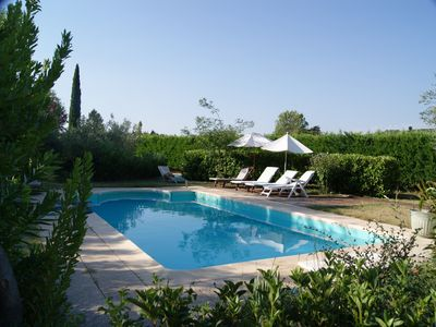 Photo for Charming cottage at the MAS DES ROSES with swimming pool