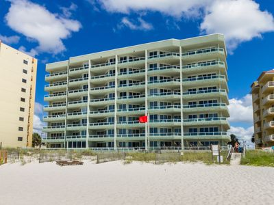 Photo for Silver Beach #102 - Beach Front Condo, Breathtaking Views, Best Rates & Location