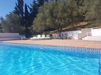 Photo for Mijas: Villa with superb mountain and sea views. Private pool