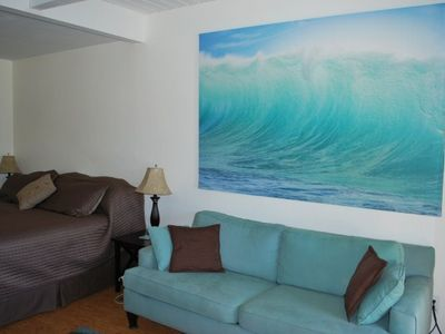 Photo for $49 last minute* Modern studio condo,King Bed,Beach Gear & Fully Loaded $75/99