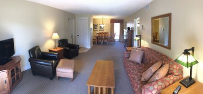 Photo for 1 June week left! Beautiful condo east side of Traverse City! A/C, Wi-Fi, more!